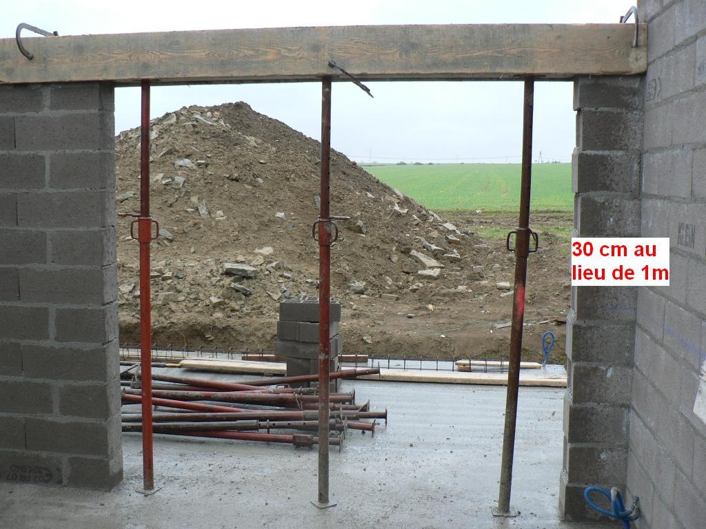 Construction des maisons m chy maconnerie rdc for Maconnerie fenetre